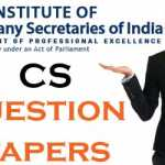 ICSI CS Question Papers