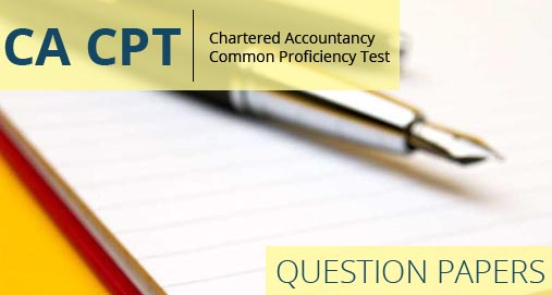 CA CPT December 2013 Question Paper with Solution in chartered accountants  Category