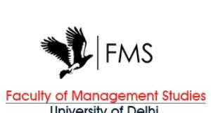 FMS Delhi - Faculty of Management Studies