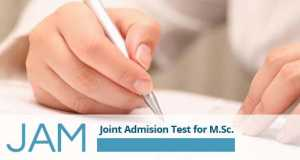JAM-Joint Admission Test for MSc