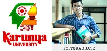 Karunya University PG Admission