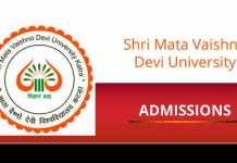 SMVDU Admissions Shri Mata Vaishno Devi University