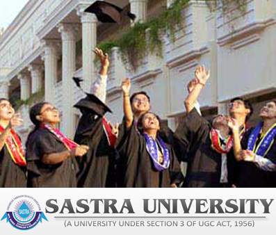 SASTRA University Admission 2014 in sastra university  Category