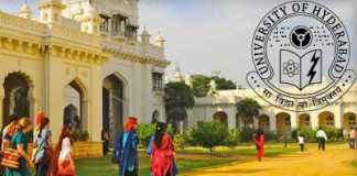 University of Hyderabad Admission