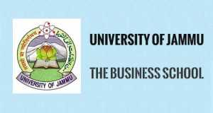 The Business School University of Jammu MBA Admissions
