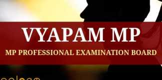 Vyapam MP Professional Examination Board