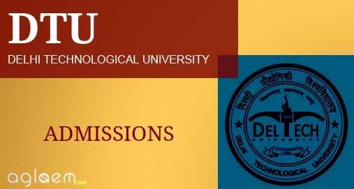 DTU B Tech Lateral Entry Admission 2020 | AglaSem Admission