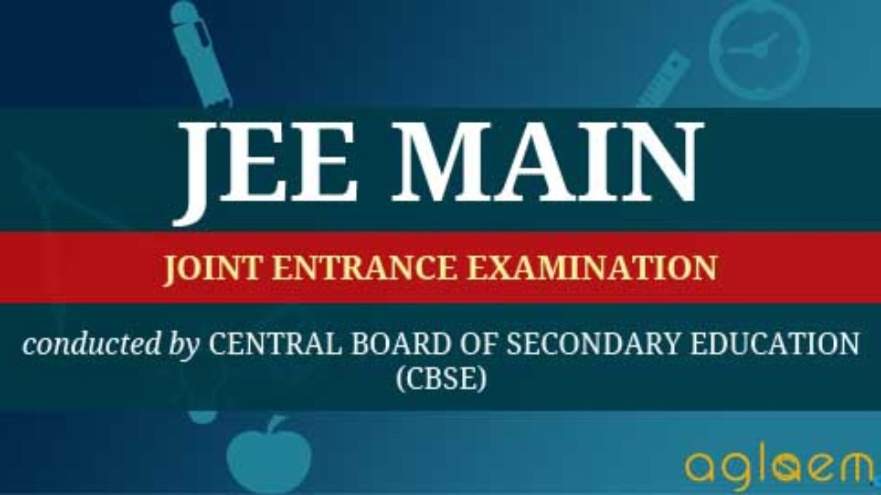 JEE Main Syllabus 2019 /2020 for Mathematics - Download PDF