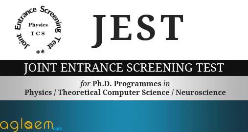 JEST Joint Entrance Screening Test