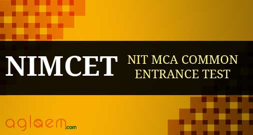 NIMCET NIT MCA Common Entrance Test