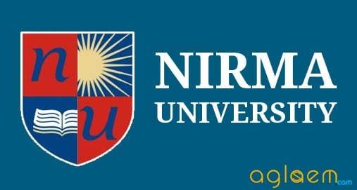 Nirma University MBA Admission   nirma university  Image