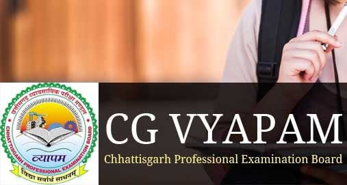 CGVyapam Exams – Chhattisgarh Professional Examination Board
