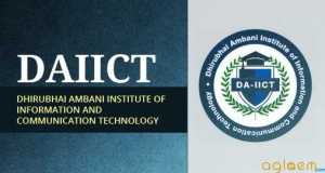 DAIICT 2015 Admissions