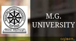 M.G. University Kerala - Mahatma Gandhi University