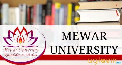 Mewar University Admission 2019 Ug Pg Diploma Common