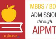 MBBS Admission Through AIPMT