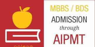 MBBS Admission Through AIPMT