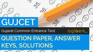 GUJCET Question Paper With Answers
