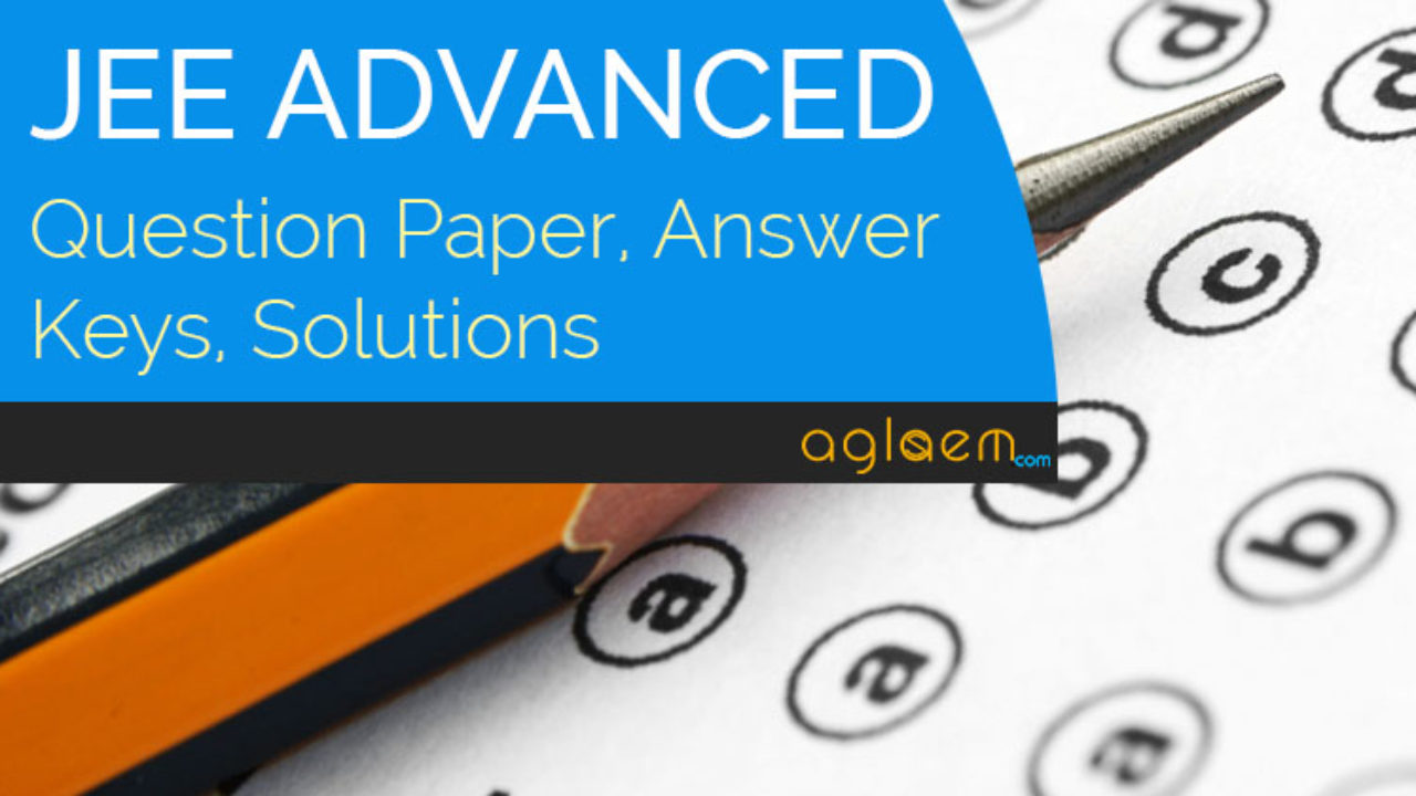 Iit Jee 2015 Question Paper With Solutions Pdf