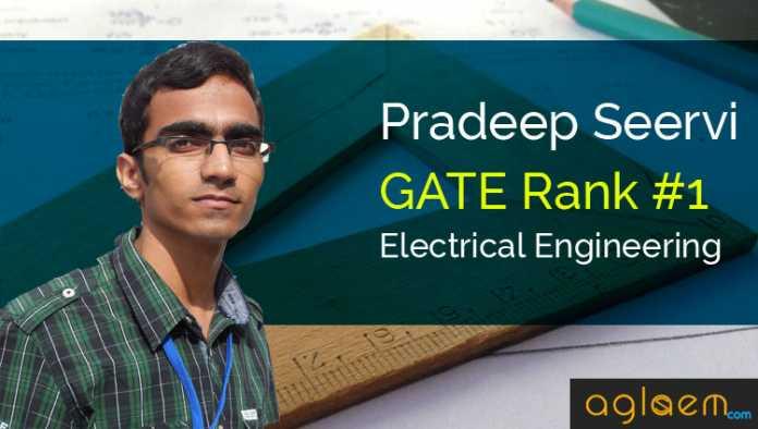 Pradeep Servi GATE Topper Interview