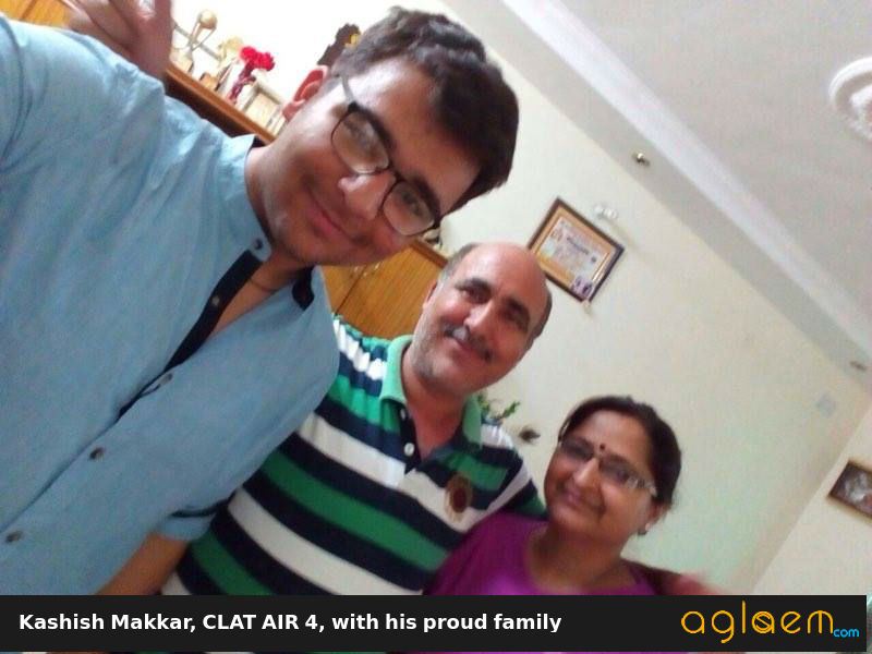 CLAT Topper Interview Kashish Makkar Aglasem
