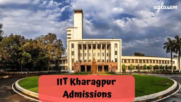 IIT Kharagpur Admissions