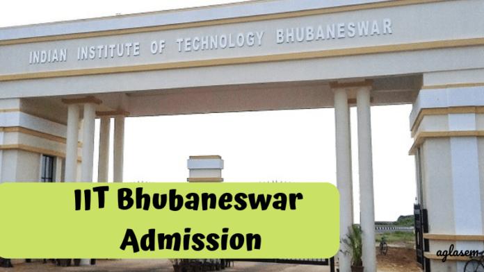 IIT Bhubaneswar Admission