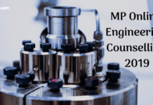 MP Online Engineering Counselling 2019