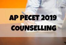 AP PECET 2019 COUNSELLING Aglasem