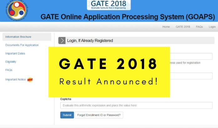 GATE Result 2019 News: Check Here And Download GATE