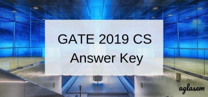 GATE 2019 CS Answer Key