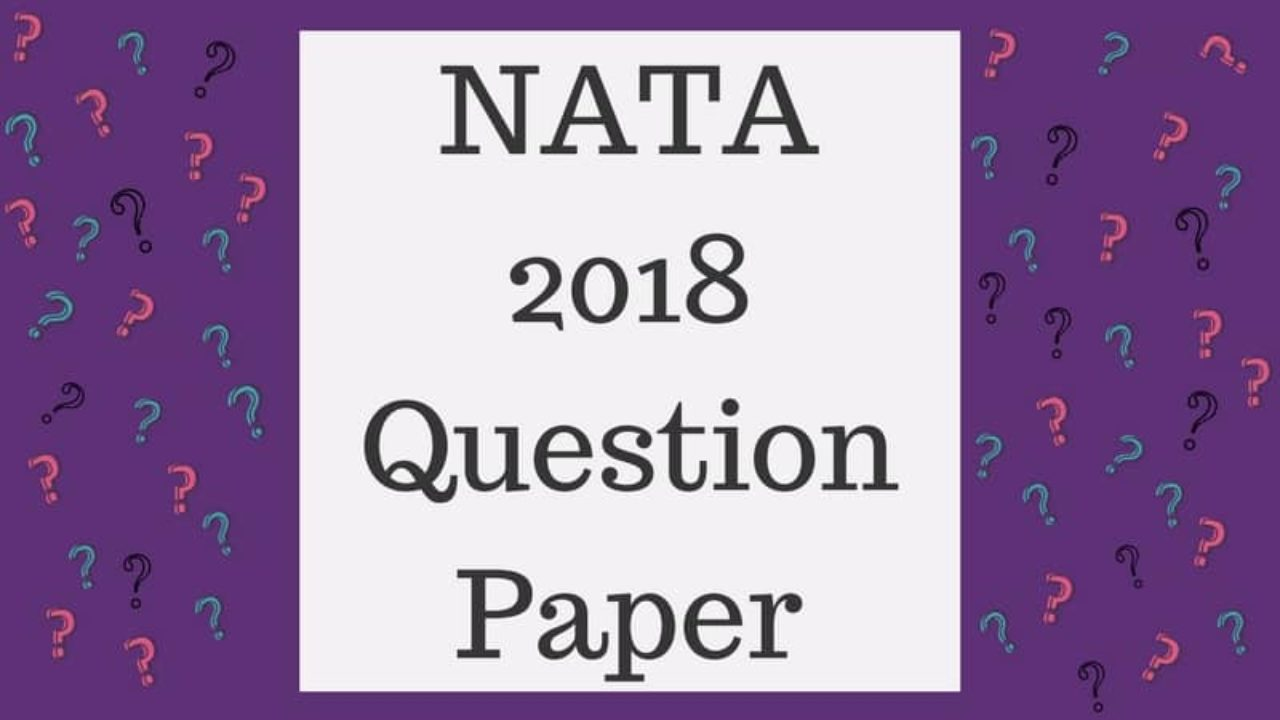Nata Sample Papers Pdf For Free