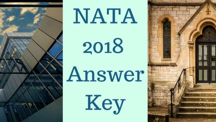 NATA 2018 Answer Key for Part A and B - Download Here NATA Answer ...
