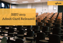 BHU 2019 Admit Card Released