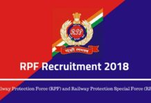 RPF Recruitment 2018 AglaSem Image