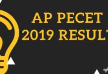 AP PECET 2019 Result Aglasem
