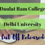 Daulat Ram College cut off