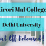 Kirori Mal College cut off