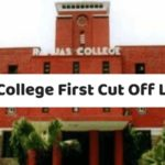 Ramjas College First Cut Off List 2018-min