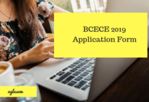 BCECE 2019 Application Form