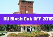 DU Sixth Cut Off 2018-min