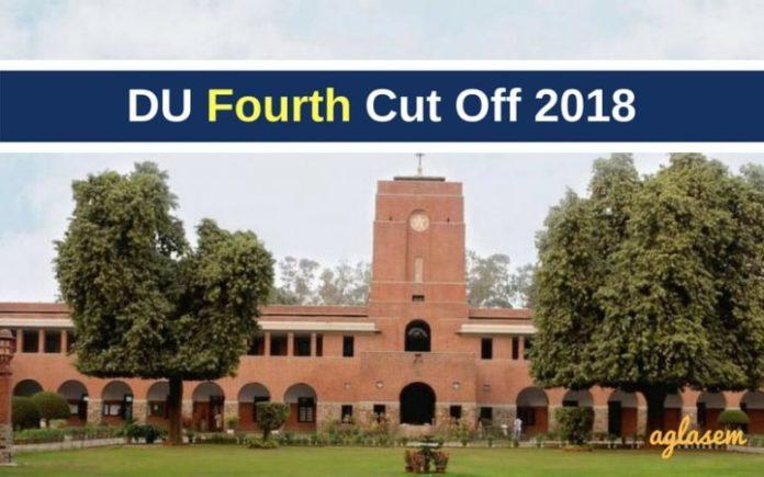 DU 4th Cut Off 2018 PDF Published - Check DU Fourth Cut ...
