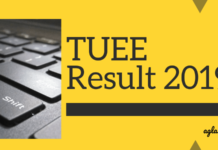 TUEE Result 2019