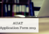 AUAT Application Form 2019