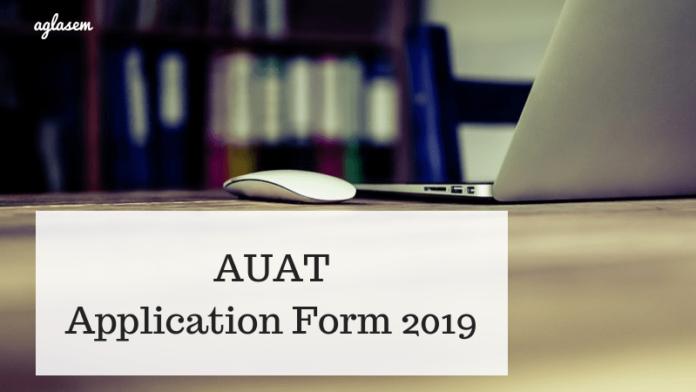 AUAT Application Form 2019