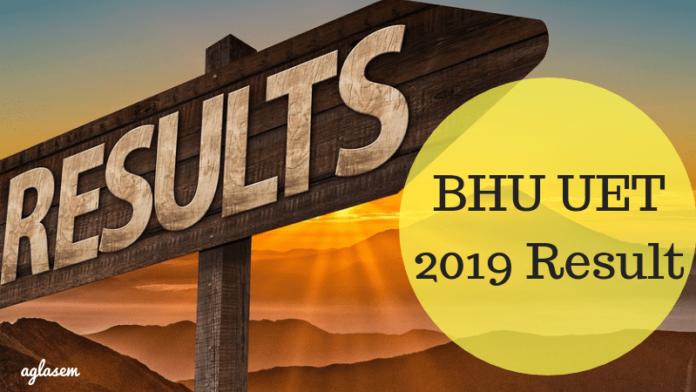 BHU UET 2019 Result