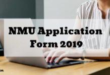 NMU Application Form 2019 Aglasem