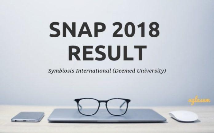 SNAP 2018 Result