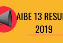 AIBE 13 Result 2019