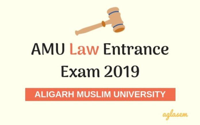 AMU Law Entrance Exam 2019